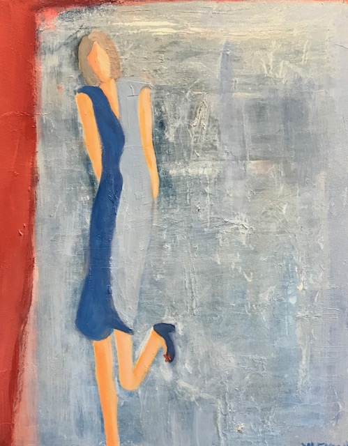 """Forever Yours <br /> 20"""" x 16""""  <br /> Mixed Media on Canvas, Gallery Wrapped<br /> SOLD"""